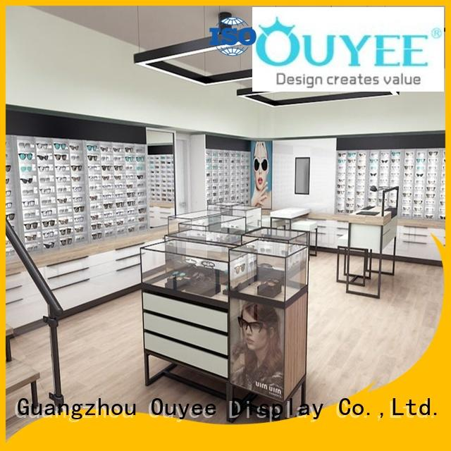 showcase ideas interior OUYEE Brand optical displays supplier