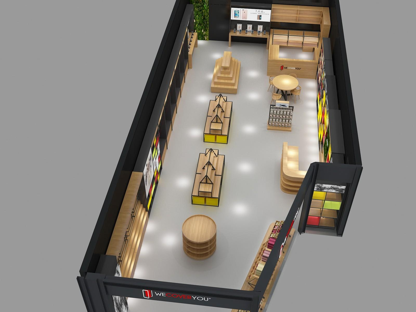 top brand mobile counter design showcase bulk production-2