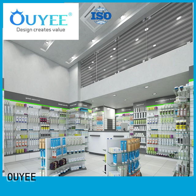 Pharmacy Shop Interior Furniture Design OY-PSD023