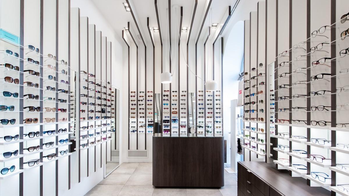 OUYEE wooden acrylic eyewear displays for wholesale for shop-1