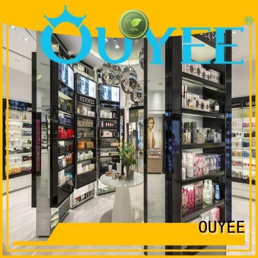 OUYEE custom perfume display rack at discount for store