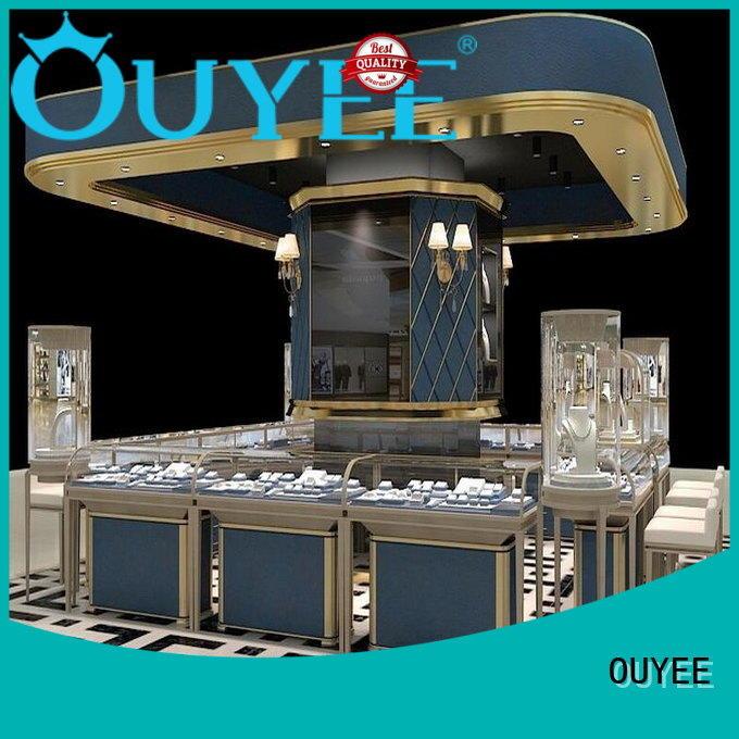 OUYEE Brand display jewellery shop showcase design shop supplier