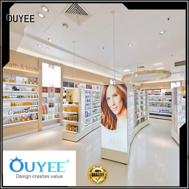OUYEE universal cosmetic display stand at discount for wholesale