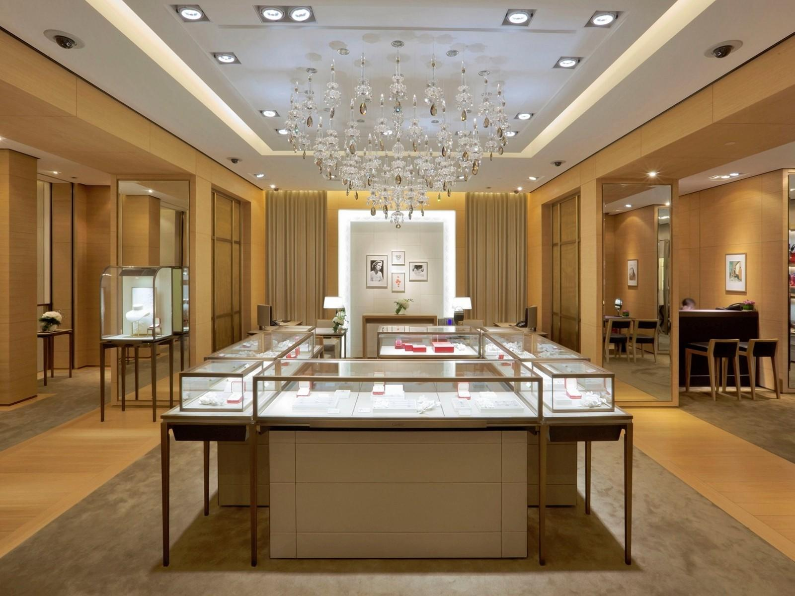 custom jewellery display cabinets OEM for shop OUYEE-1