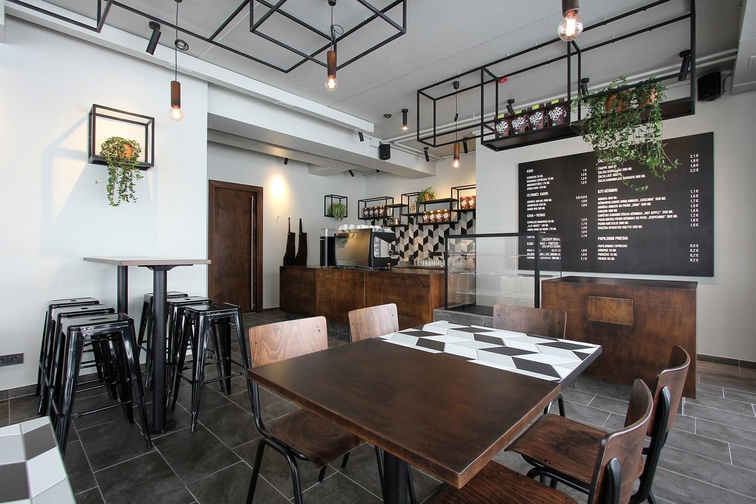 OUYEE chic coffee cafe interior design modern for club-2