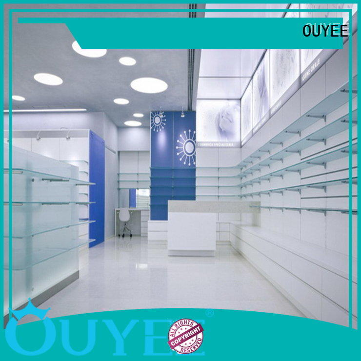pharmacy counter design medical counter OUYEE Brand company