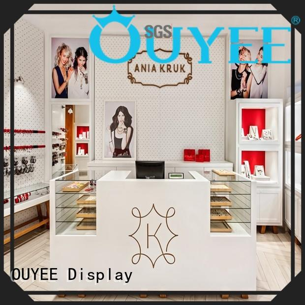 OUYEE high quality watch display stand eye-catching for shop