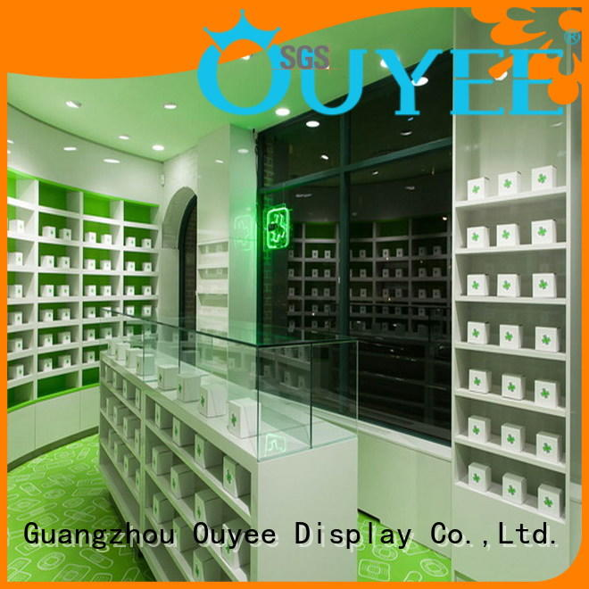 pharmacy counter design pharmacy retail designs OUYEE Brand company