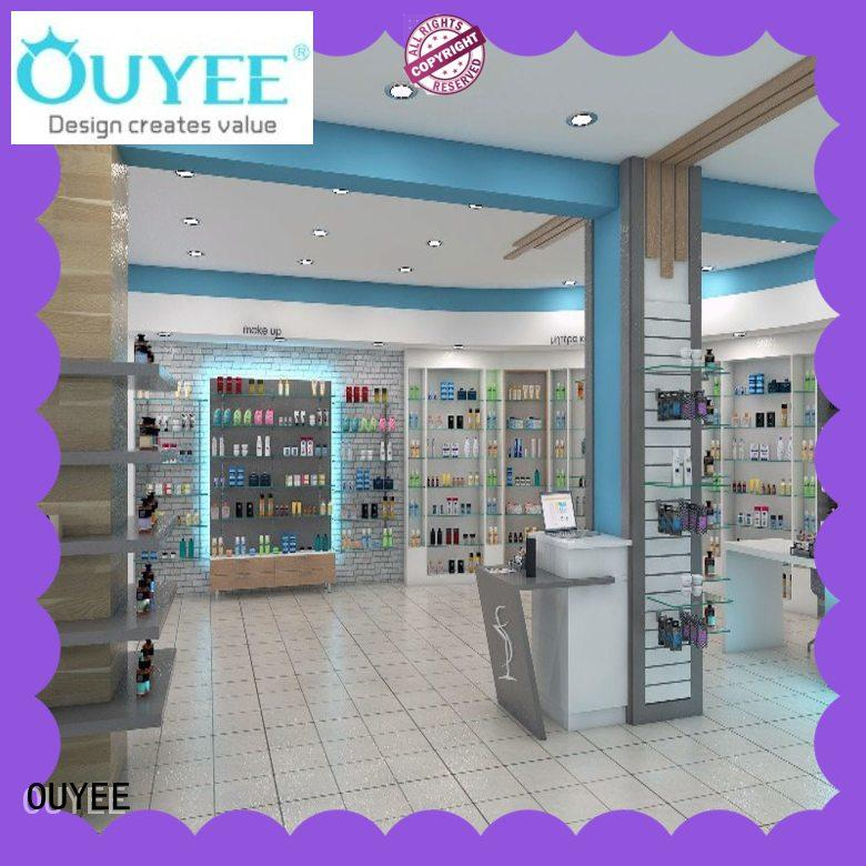 OUYEE durable retail pharmacy design modern for store