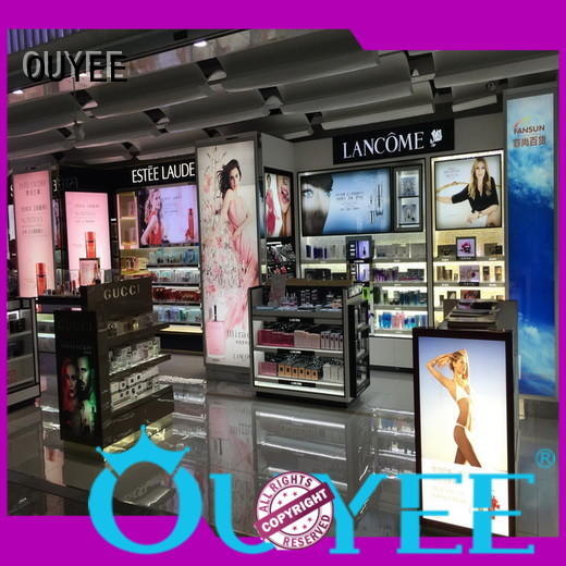 OUYEE low cost makeup display unit newest for wholesale