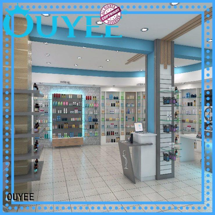 OUYEE modern pharmacy store fixtures and design supplier for medicine