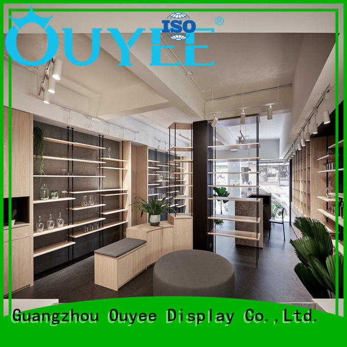 OUYEE modern pharmacy decor fast installation for medicine