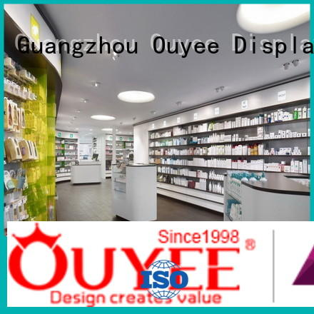 OUYEE high-quality pharmacy shelving solutions on-sale for shop