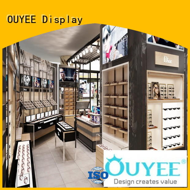 Hot store optical displays showroom stand OUYEE Brand