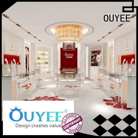 jewellery shop showcase design tower Bulk Buy cabinet OUYEE