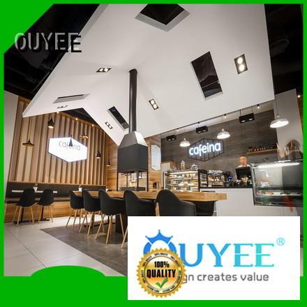 Wholesale furniture kiosk coffee shop OUYEE Brand
