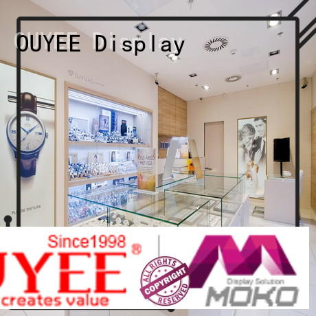 wall watch display custom for shop OUYEE