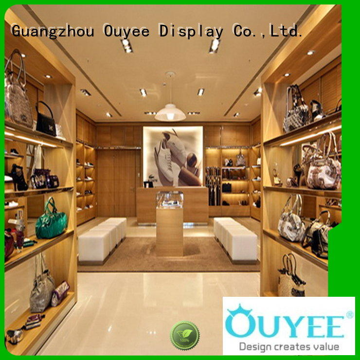 OUYEE high-end handbag display cabinet universal for store