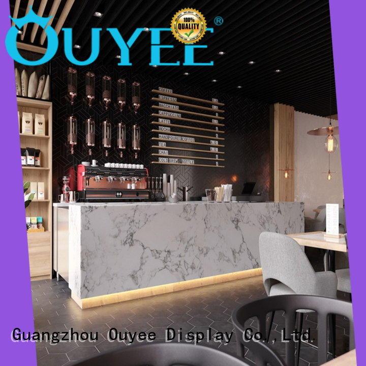 Coffee Shop Counter Design OY-CSD012