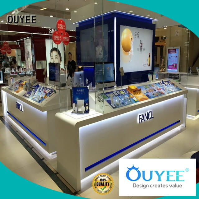 OUYEE custom cosmetic display high-end for wholesale