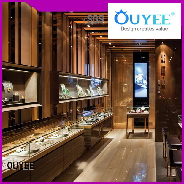 Hot ideas jewellery shop showcase design counters OUYEE Brand