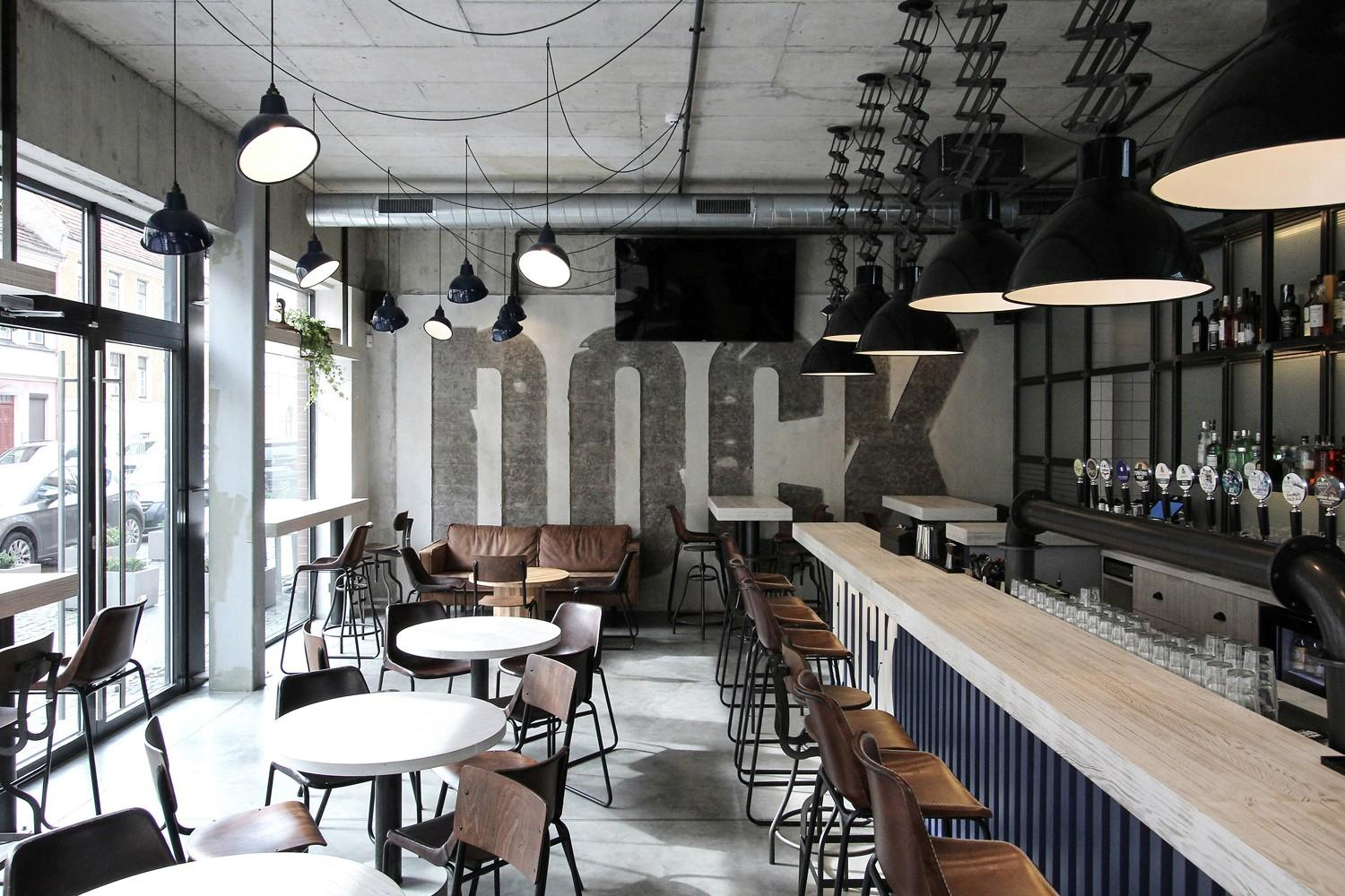 OUYEE eye-catching small cafe design bulk production for restaurant-3