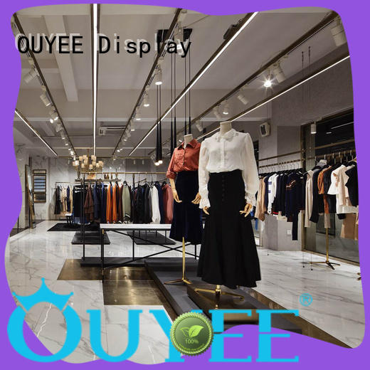 OUYEE top-selling clothes shop design at discount for ladies clothing
