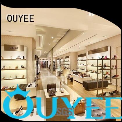 footwear wooden shoe rack designs wall OUYEE company