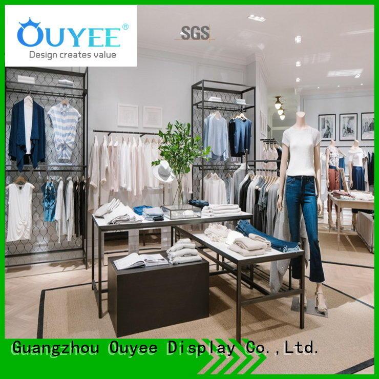clothing lingerie OEM clothing shelves OUYEE