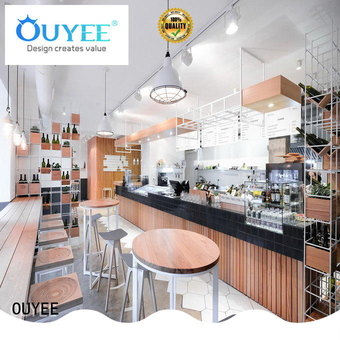 commercial cafe counter design at discount for furniture OUYEE