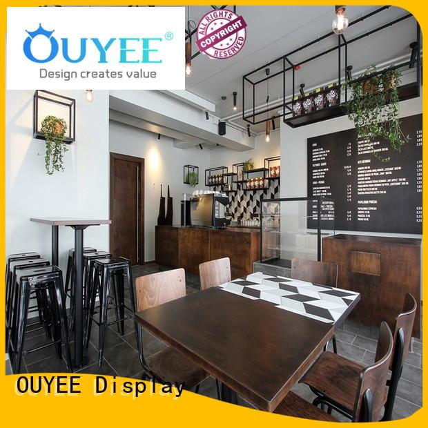 design commercial OUYEE Brand kiosk coffee shop