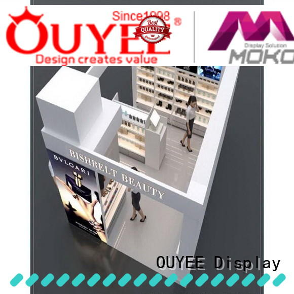 OUYEE hot-sale perfume shelf display at discount for store