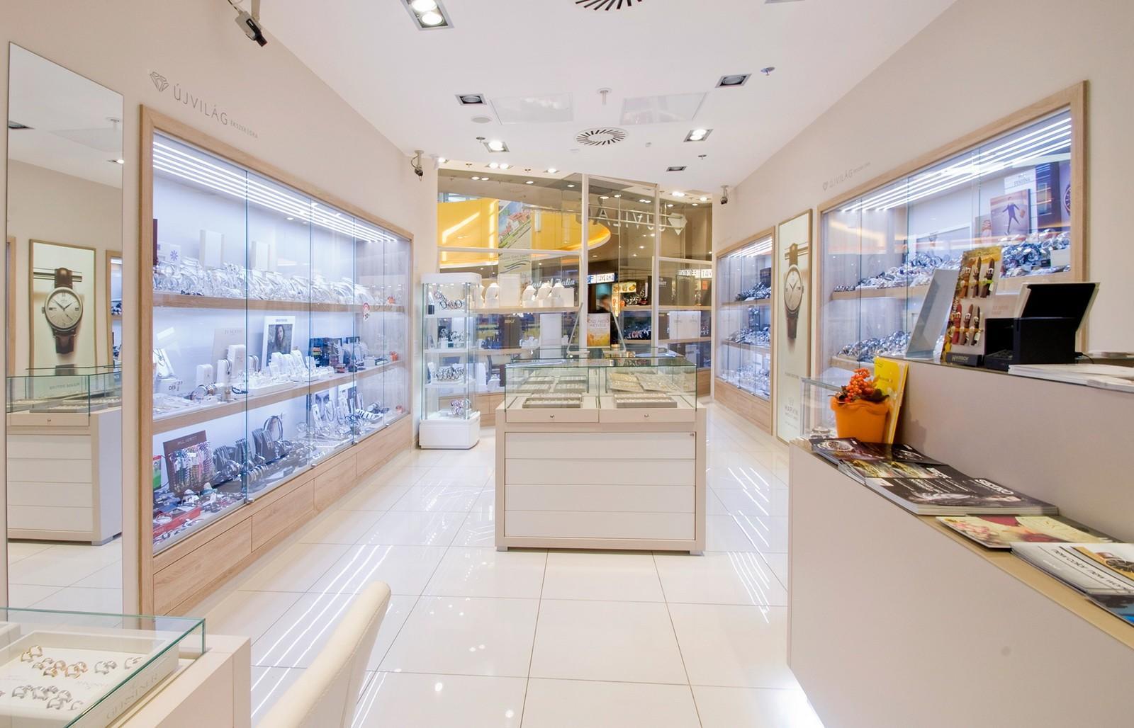 wall watch display custom for shop OUYEE-2