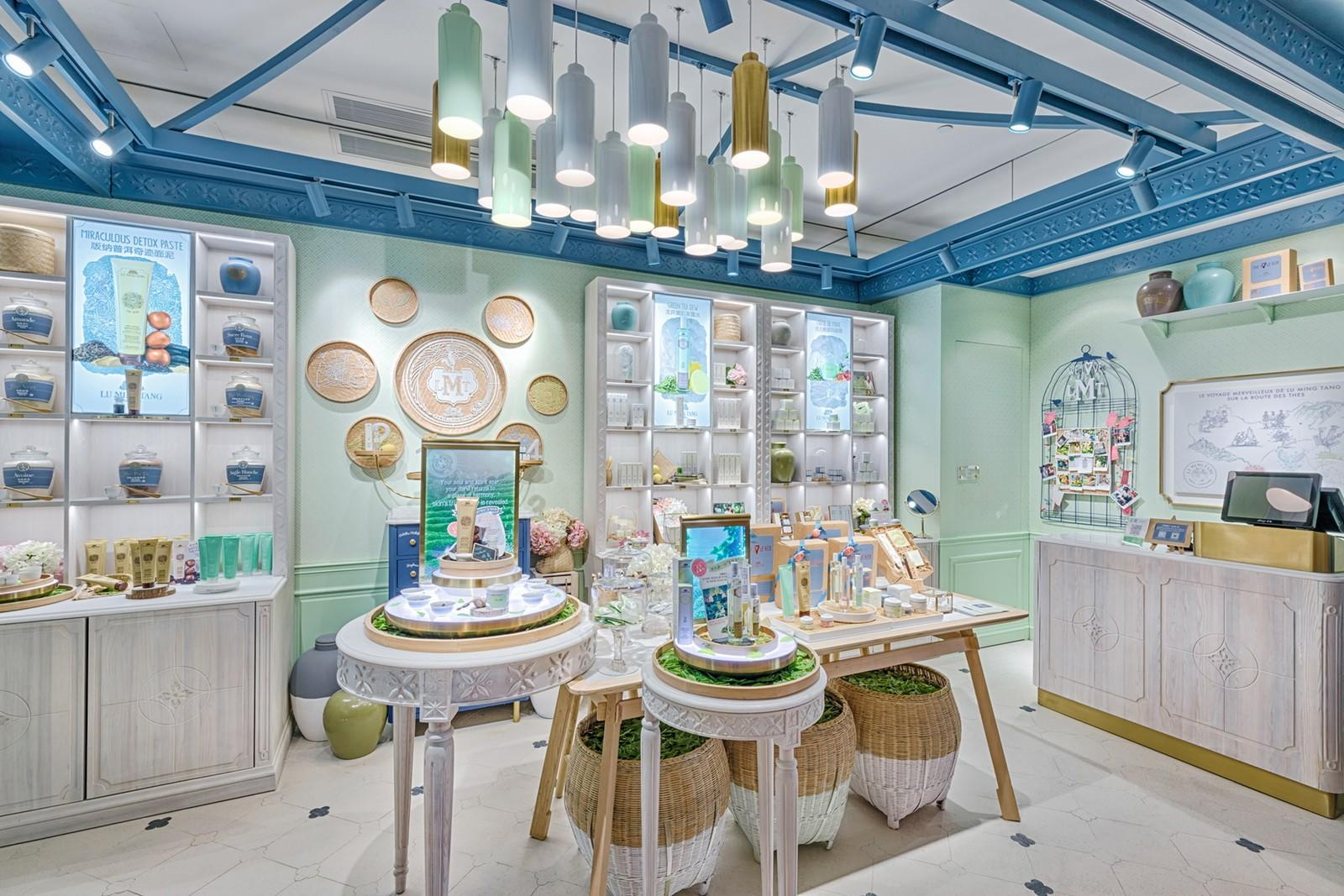 OUYEE one-stop cosmetic shop interior design cheapest factory price for decoration-3