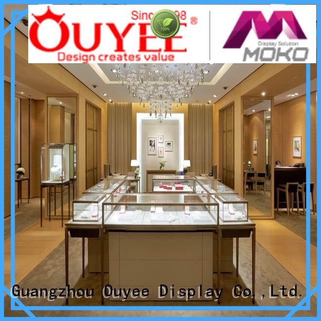 OUYEE high quality acrylic watch display OEM for store