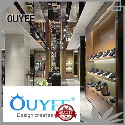 popular cloth counter design high-end universal for garment display