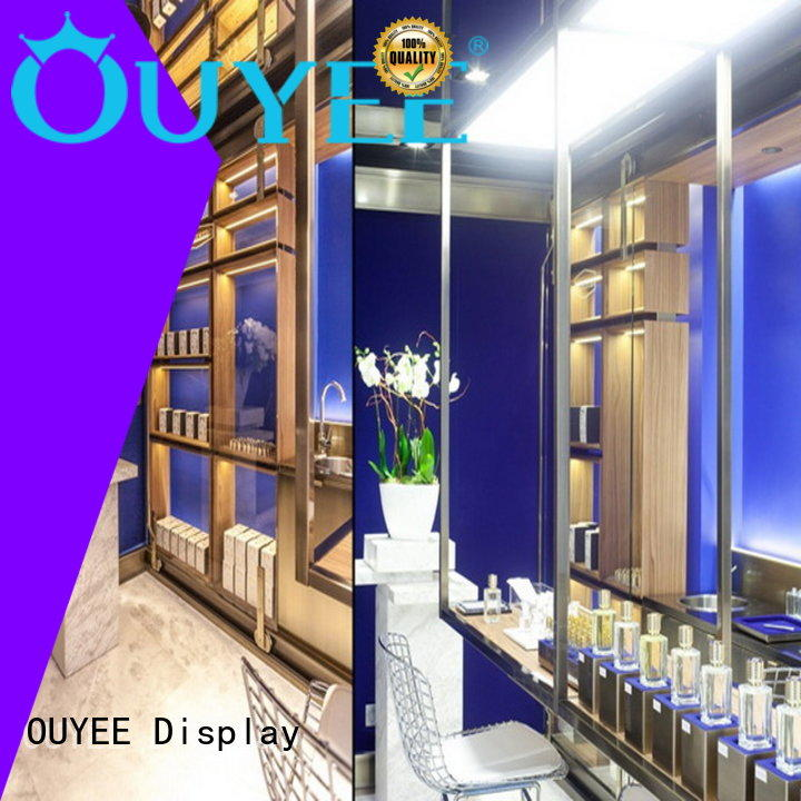 OUYEE hot-sale perfume store design top brand for decoration