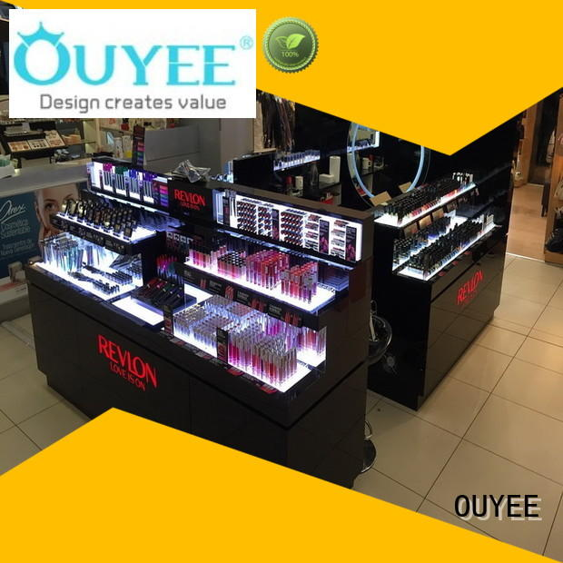 durable cosmetics shop decoration newest cheapest factory price for wholesale