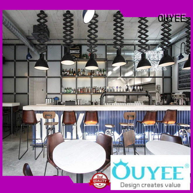 coffee shop interior design plan commercial factory price for furniture