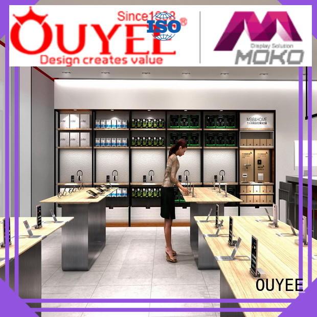phone repair kiosk display OUYEE Brand electronic shop display