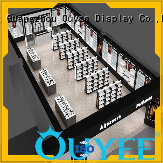 OUYEE funky style store display shelves bulk production for store