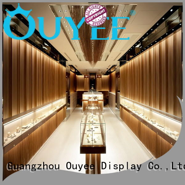 Wholesale design jewellery shop showcase design stands OUYEE Brand