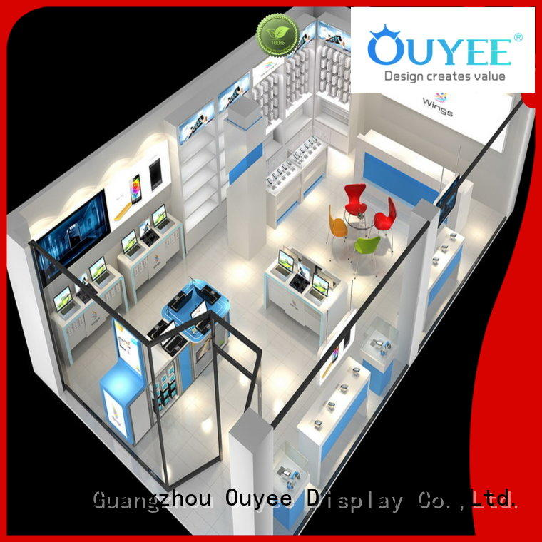 display stand fixtures ideas electronic shop display OUYEE