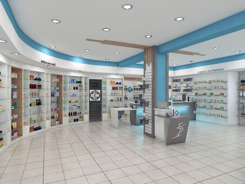 OUYEE durable retail pharmacy design modern for store-2