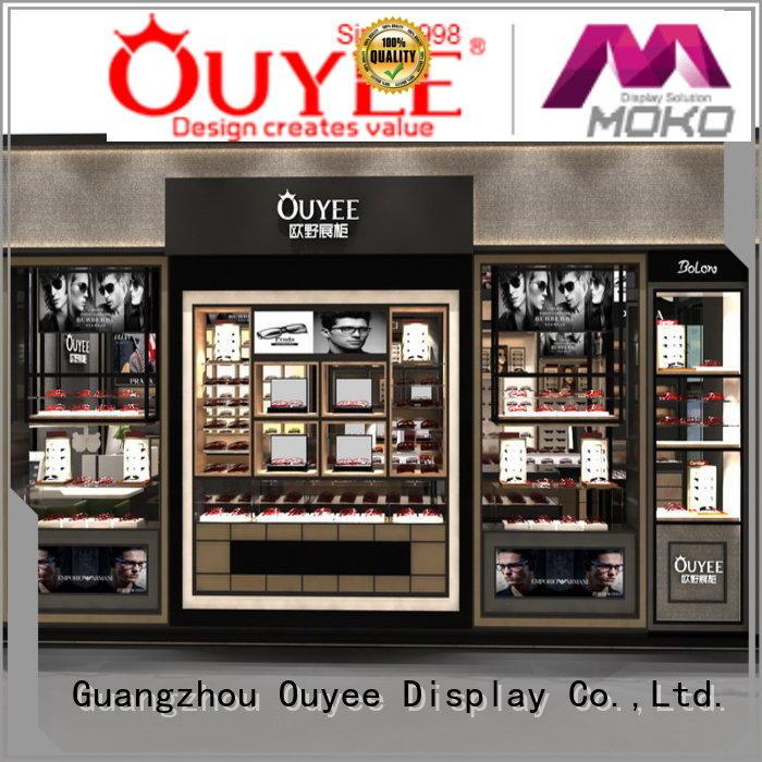 Quality OUYEE Brand eyeglass display stand eyeglass fixture