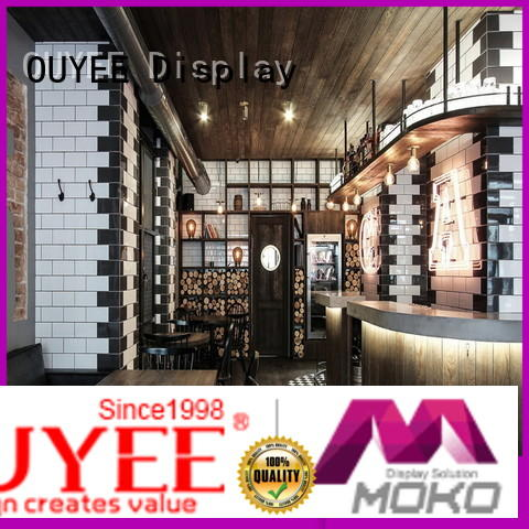 OUYEE commercial coffee shop counter at discount for club