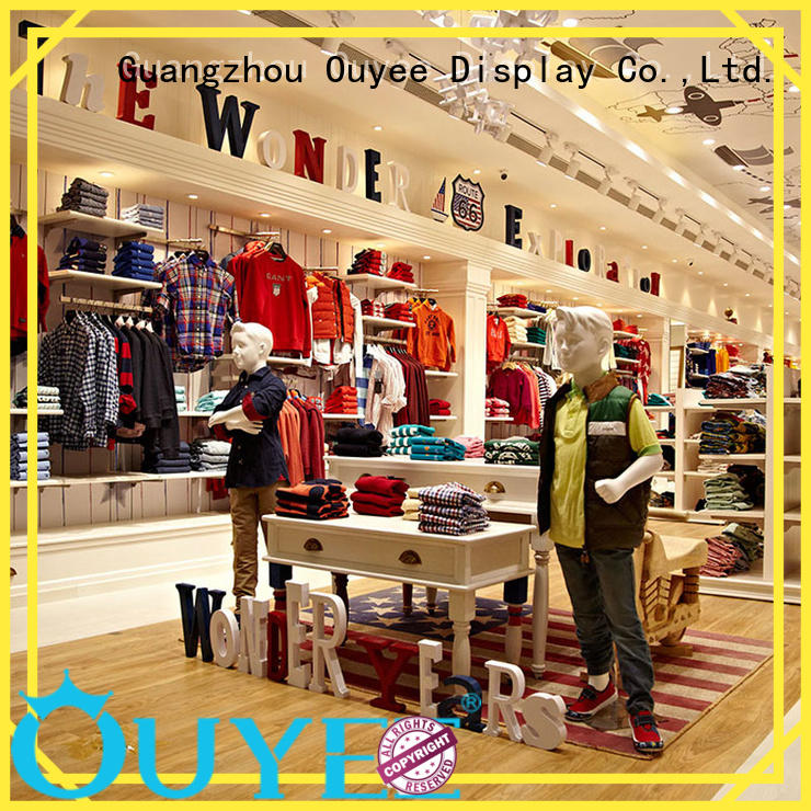 OUYEE high-end garments shop furniture universal for decoration