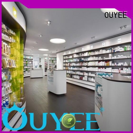 Hot pharmacy counter design shop OUYEE Brand