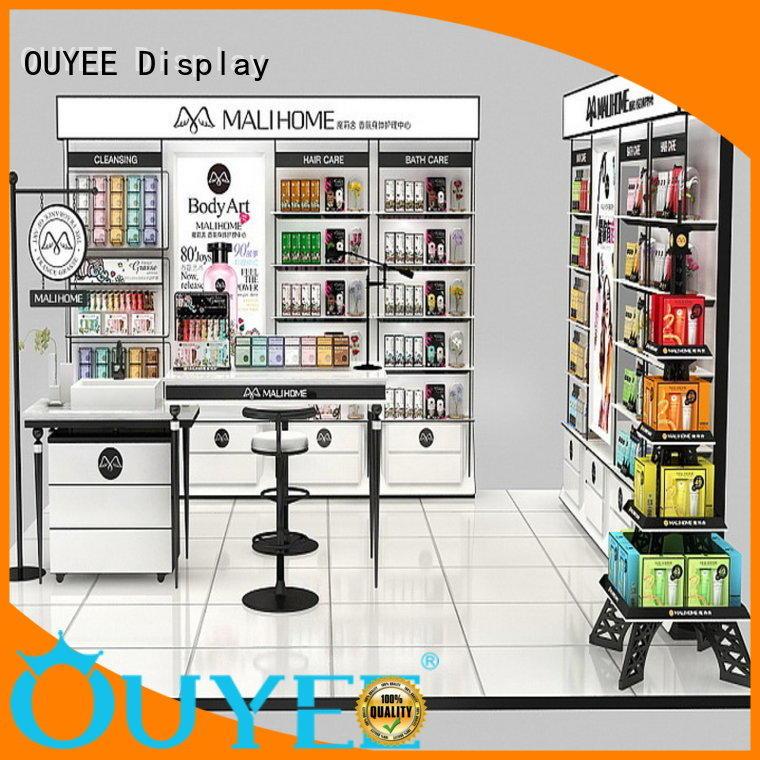 Hot makeup retail display vanity OUYEE Brand