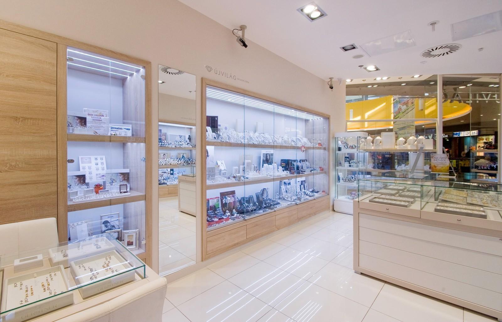 wall watch display custom for shop OUYEE-3